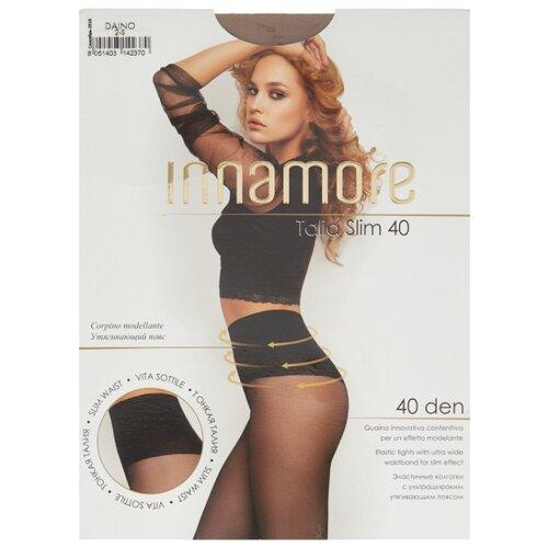 Колготки Innamore Talia Slim 40 den, размер 2-S, daino (коричневый) колготки innamore ottima 20 den размер 4 l daino коричневый