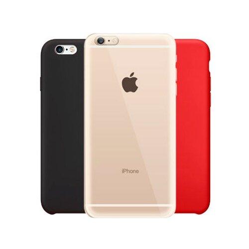 Купить Чехол With Love. Moscow Комплект для Apple iPhone 6/iPhone 6S (W000902APP) прозрачный/черный/красный