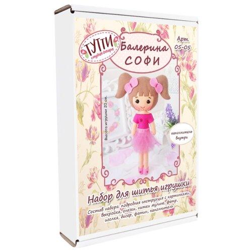 Купить Тутти Набор для творчества шьем из фетра Балерина Софи (05-05), Изготовление кукол и игрушек