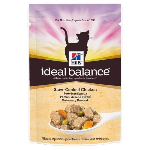 Корм для кошек Hills Ideal Balance с курицей 85 гКорма для кошек<br>