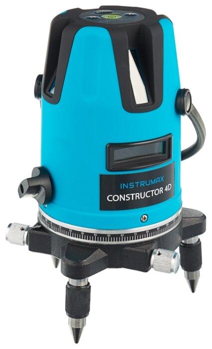 Лазерный уровень INSTRUMAX Constructor 4D Set