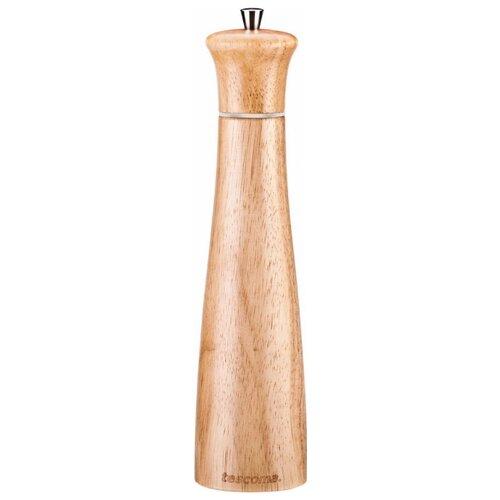Tescoma Мельница для перца/соли Virgo Wood 28 см светлое дерево мельница для перца метаltex 10 см маленькая сталь дерево