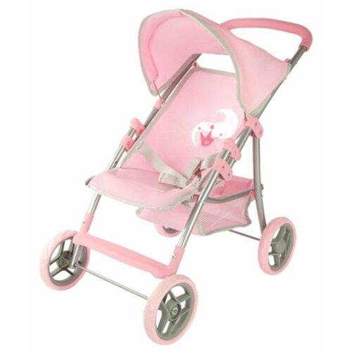 Купить Прогулочная коляска Mary Poppins Корона 67212 розовый, Коляски для кукол