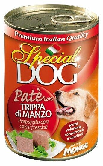 Корм для собак Special Dog Паштет Рубец Говяжий (0.400 кг) 1 шт.