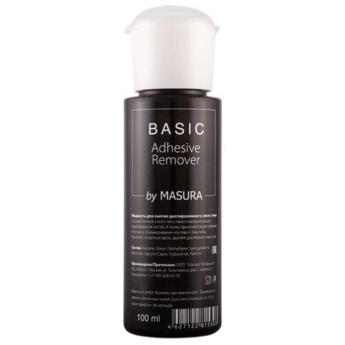 Masura Жидкость для снятия дисперсионного слоя с геля Basic Adhesive Remover 100 мл, с дозаторомЖидкости<br>