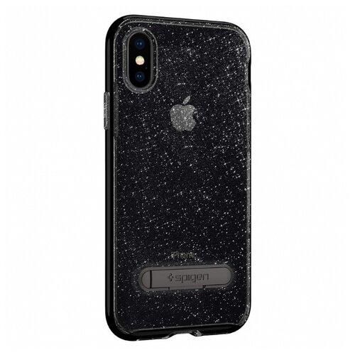 Чехол Spigen 057CS22148 для Apple iPhone X космический кварцЧехлы<br>