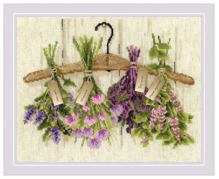 Риолис Набор для вышивания крестом Пряные травы 30 х 24 (1717)