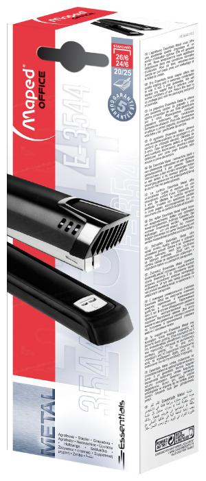 Maped степлер Essentials Metal Half Full Strip E3544
