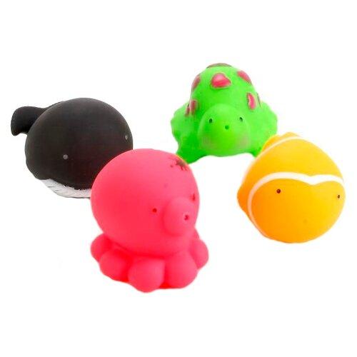 Купить Набор для ванной Играем вместе 4 Водных обитателя (В1298335), Игрушки для ванной
