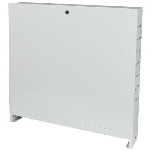 Коллекторный шкаф наружный STOUT ШРН-3 SCC-0001-000810 серый шкаф распределительный stout встроенный 1 3 выхода шрв 0 670х125х404 мм scc 0002 000013