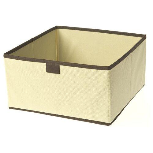 You'll love Коробка для хранения 15*28*28 см бежевый/коричневый