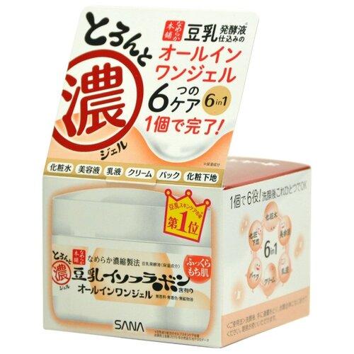 SANA Крем-гель для лица увлажняющий с изофлавонами сои 6 в 1, 100 г недорого