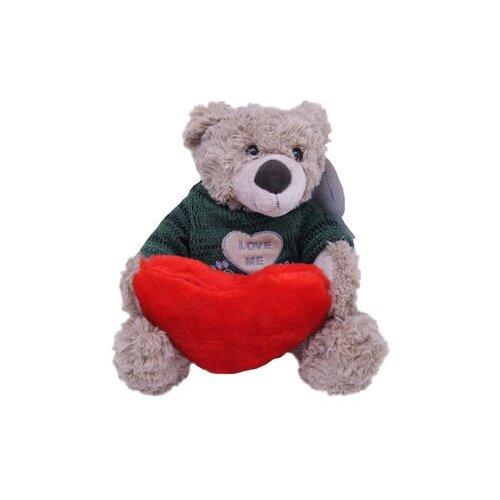 Купить Мягкая игрушка Magic Bear Toys Мишка Тед в свитере c сердцем 20 см, Мягкие игрушки