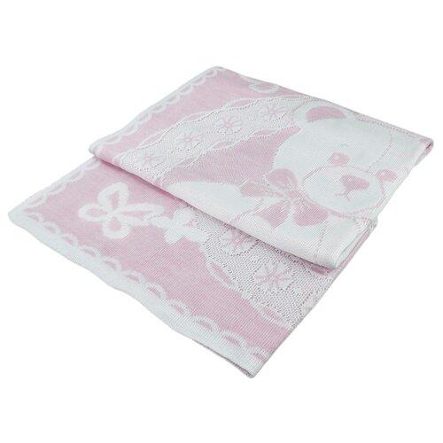 Купить Плед LEO Мой малыш 90x100 розовый, Покрывала, подушки, одеяла