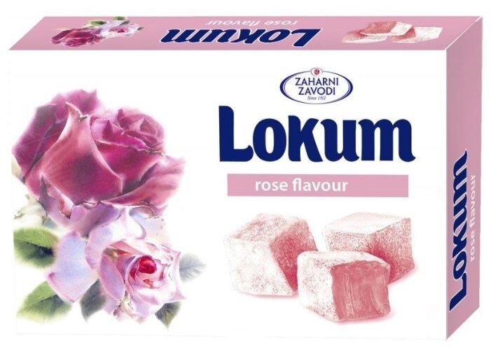Лукум Zaharni Zavodi со вкусом розы 140 г