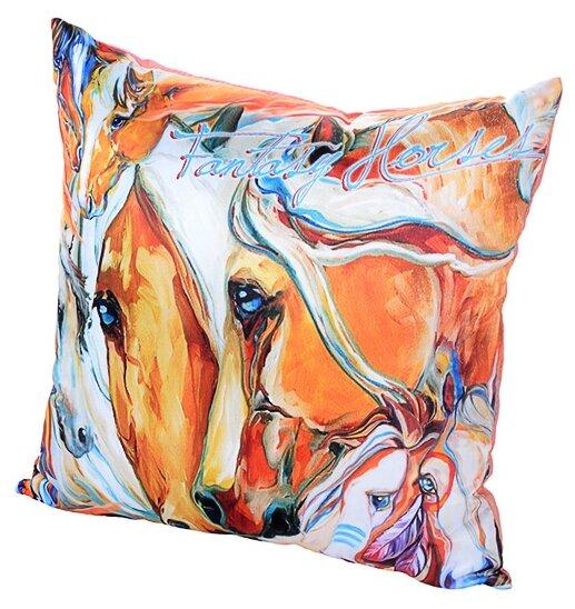 Подушка декоративная Gift'n'Home Фантазии о Лошадях 35x35 см (PLW-35 Fantasy)