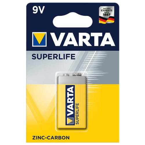 Батарейка VARTA SUPERLIFE 9V Крона 1 шт блистер