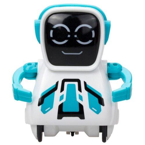 Купить Интерактивная игрушка робот Silverlit Pokibot Квадратный голубой, Роботы и трансформеры