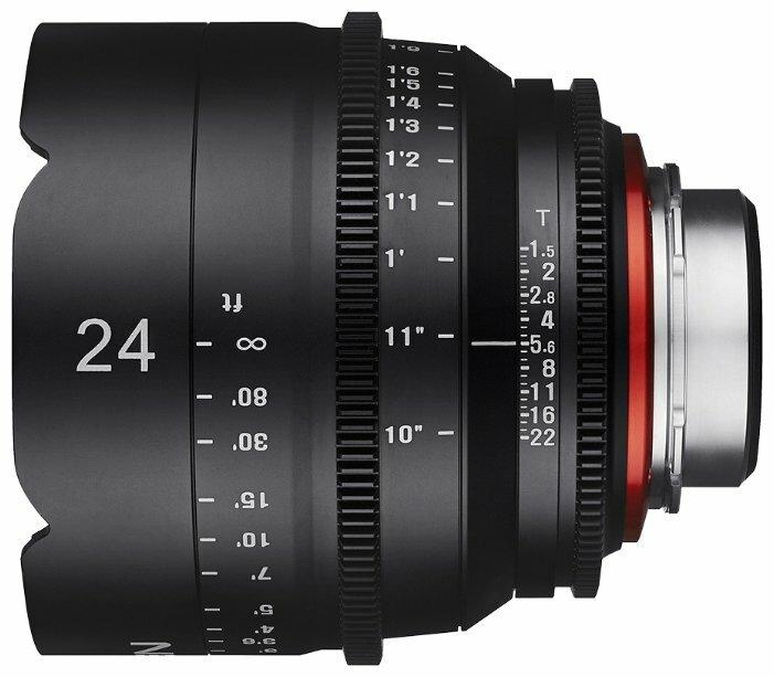 Объектив Xeen 24mm T1.5 Nikon F (XN24-N)