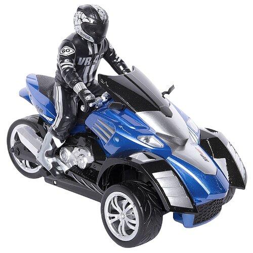 Трицикл Yuan Di YD898-T54 1:10 синий радиоуправляемый мотоцикл yuan di трицикл 1 10 t54