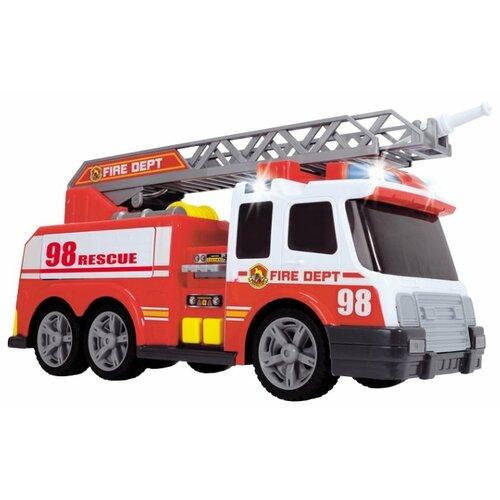 Пожарный автомобиль Dickie Toys 3308358 37 см белый/красный цена 2017