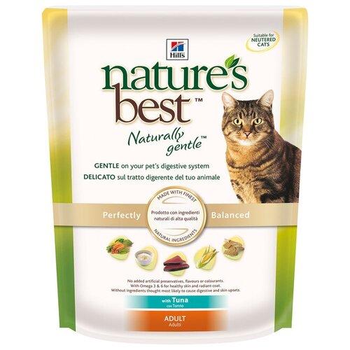 Корм для кошек Hill's Nature's Best для здоровья кожи и шерсти, с тунцом 300 г