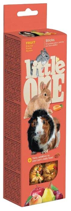 Лакомство для кроликов, грызунов Little One Sticks Fruit
