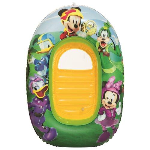 Купить Надувная лодочка Bestway Kiddie Raft 91003 BW зеленый/желтый/фиолетовый, Надувные игрушки