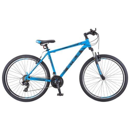 Горный (MTB) велосипед STELS Navigator 700 V 27.5 V010 (2019) синий 19 (требует финальной сборки) велосипед stels navigator 440 v 13 kubc0049812018 синий