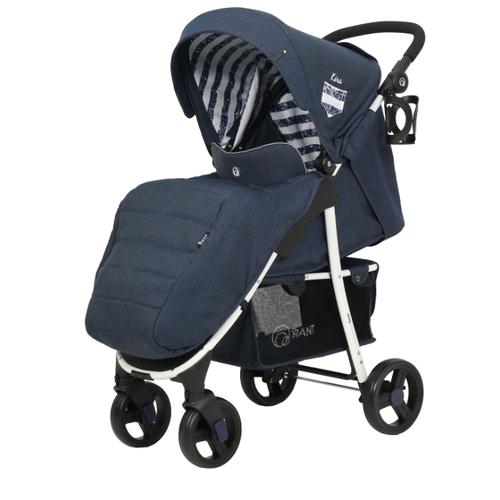 Прогулочная коляска RANT Kira 2019 lines blue прогулочная коляска rant space blue black