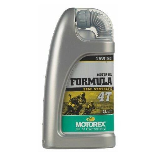 Моторное масло Motorex Formula 4T 15W-50 1 л