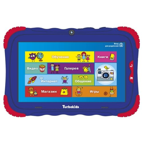 Планшет TurboKids S5 16Gb синий планшет