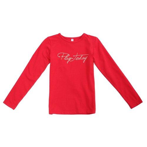 Лонгслив playToday размер 116, розовый лонгслив playtoday розовый 86 размер