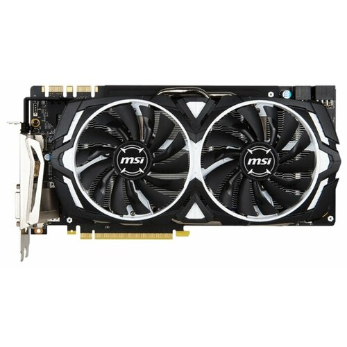 Видеокарта MSI GeForce GTX 1080 1657MHz PCI-E 3.0 8192MB 10010MHz 256 bit DVI HDMI HDCP RetailВидеокарты<br>