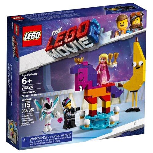 Купить Конструктор LEGO The LEGO Movie 70824 Познакомьтесь с королевой Многоликой Прекрасной, Конструкторы