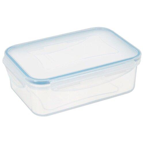 Фото - Tescoma Контейнер Freshbox 0.4 л прямоугольный голубой/прозрачный tescoma контейнер freshbox 2 л
