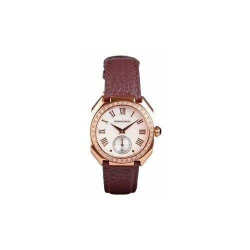 Наручные часы ROMANSON RL1208QLR(WH) romanson romanson tl 5507 xw wh