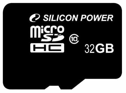 Карта памяти Silicon Power microSDHC Class 10