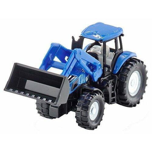 Купить Трактор Siku New Holland (1355) 1:87 синий, Машинки и техника