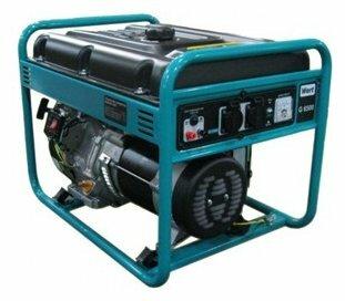 Бензиновый генератор Wert G6500 (5000 Вт)