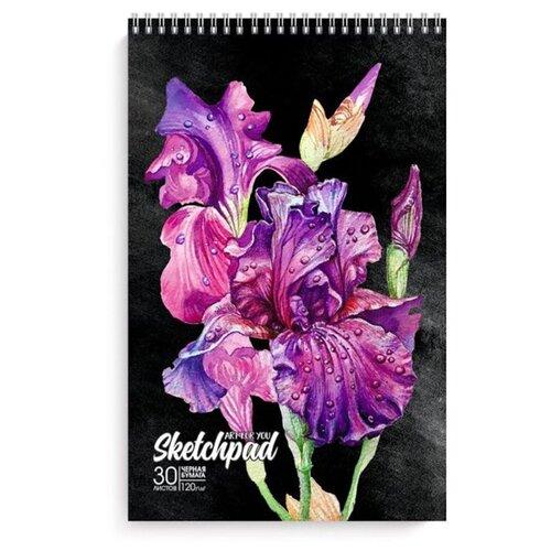 Альбом Феникс Красивые цветы 29.2 х 19.5 см, 120 г/м², 30 л.