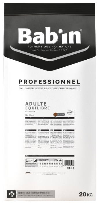 Корм для собак Bab'in Professionnel Adulte Equilibre