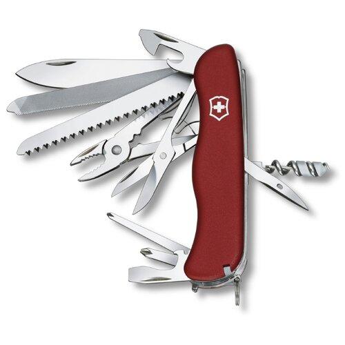 Нож многофункциональный VICTORINOX Work champ (21 функций) красный нож многофункциональный victorinox ranger camping 21 функций красный