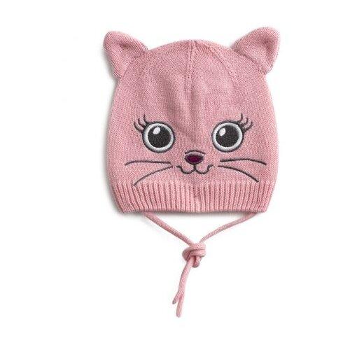 Шапка playToday размер 48, розовыйГоловные уборы<br>