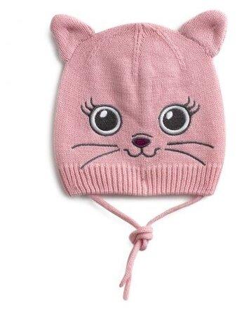 Розовая шапка для девочки PlayToday Baby PlayToday Baby 198050
