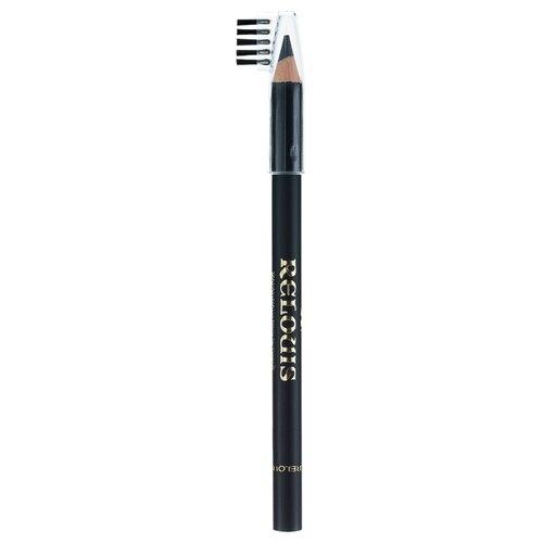 Relouis карандаш с щёточкой, оттенок 04 черный