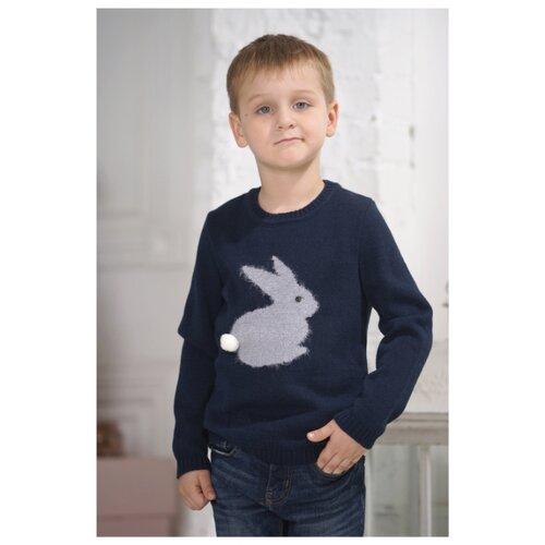 Купить Джемпер Веснушки размер 104, синий, Свитеры и кардиганы