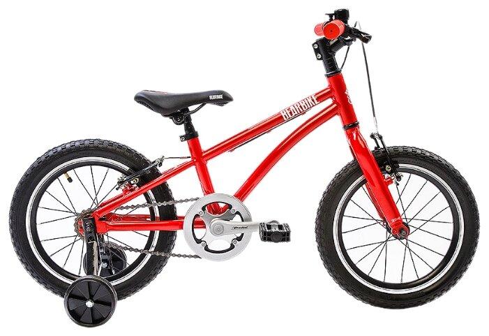 Детский велосипед BearBike Китеж 16 1s v-brake красный (требует финальной сборки)