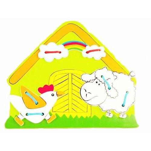 цена на Шнуровка Mapacha Ферма (76408)