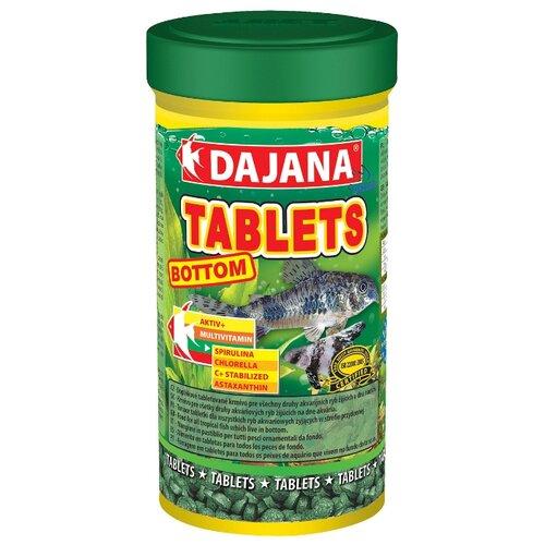 Сухой корм Dajana Pet Tablets Bottom для рыб 250 мл 150 г